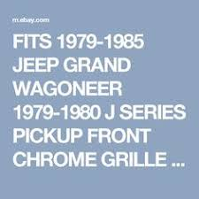tail gate wiring harness oem jeep grand wagoneer 84 91 wire details about fits 1979 1985 jeep grand wagoneer 1979 1980 j series pickup front chrome grille