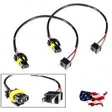 2x h7 wire harness cable for hid ballast to stock 9006 socket hid  at Hid Ballast To Stock Wiring Harness H7