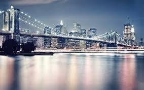 Brooklyn Bridge Lights Brooklyn Bridge In The Night Lights 2560 X 1600 Locality