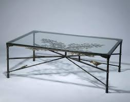 iron and glass coffee table forged tables square wrought sets