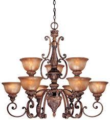 minka lavery 1358 177 illuminati 9 light bronze chandelier undefined