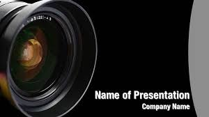 Camera Lens Powerpoint Templates Camera Lens Powerpoint