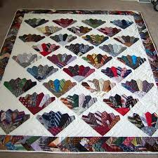 Best 25+ Necktie quilt ideas on Pinterest | Tie quilt, Dresden ... & Craft Projects: Necktie Quilt