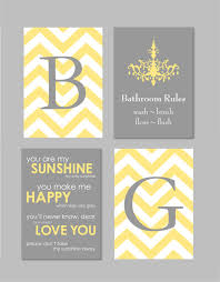 on grey and yellow bathroom wall art with bathroom wall art yellow and gray decor bathroom rules sign
