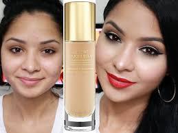 first impression ysl le teint touche eclat foundation oily acne e skin you