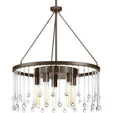 progress lighting p400007 020 sway chandelier antique bronze item description 5 light chandelier