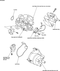 Repair guides distributor ignition system ripping 1996 honda civic wiring