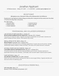 Customer Service Experience Definition Receptionist Skills Job Description And Resume Example