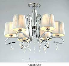 crystal lamp shades for chandeliers multiple chandelier fabric shade glass light large metal uk