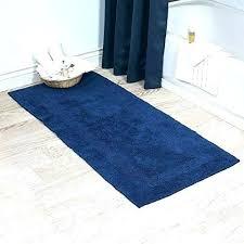 long bath rug reversible bathroom rugs long bathroom rugs lavish home cotton reversible long bath rug