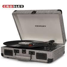 <b>Crosley Cruiser Deluxe</b> Vintage 3-Speed Bluetooth Suitcase ...