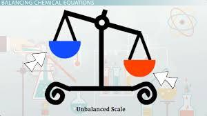 balanced chemical equation definition examples lesson transcript study com