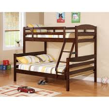 Kids Bunk Bed Bedroom Kid Double Decker Solid Walnut Brown Wood T Malaysia  Toddler Deck Singapore ...