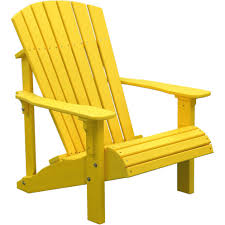 recycled plastic adirondack chairs. Astounding Yellow Adirondack Chair Plastic Your Residence Concept: Luxcraft Deluxe Recycled | Chairs