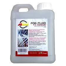 adj f1l premium fluids fog haze bubble snow machines lighting