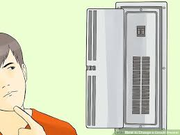 the best way to change a circuit breaker wikihow  image titled change a circuit breaker step 1