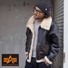 alpha industries alpha b 3 sheepskin leatherette jacket ta1329 men genuine leather flight jacket leather
