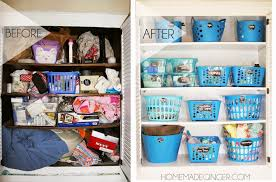 organize your entire closet with containers from the dollar for less than 20