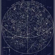 Shop Celestial Star Map On Wanelo