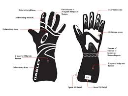 Driving Glove Size Chart Oakley Racing Gloves Size Chart Images Gloves And