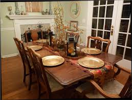 dining room table decor. Dining Room:Kitchen Table Decor Fall Awesome Room Round Glass Top And Surprising Photo