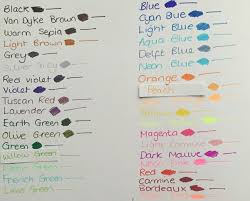 Staedtler Triplus Color Chart Staedtler Triplus Fineliner 48 Color Chart Www