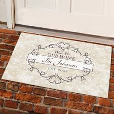 personalized front door matsPersonalized Doormats  GiftsForYouNow