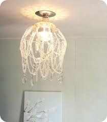 diy shabby chic crystal chandelier