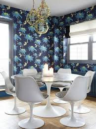 dining room decorating color ideas. mural dining room beautiful wallpaper white chairs candles decorating color ideas