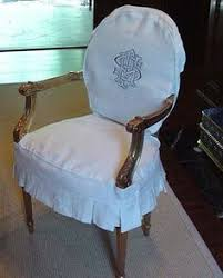 i m sewing slipcovers monogrammed dining chairs in white linen dining room chair slipcovers