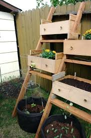 wooden box planters vertical wooden box planter