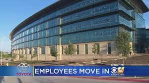 200+ Employees Officially Move In At New Toyota HQ In Plano « CBS ...