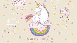 Cute Unicorn Wallpaper HD