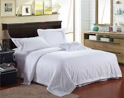 100 egyptian cotton white hotel bedlinen fashion hotel bedding luxurious duvet covers satin sheet set