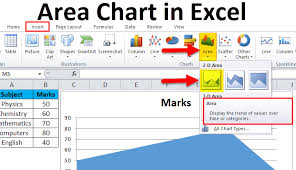 How To Make Data Chart In Excel Area Chart Examples How To Make Area Chart In Excel