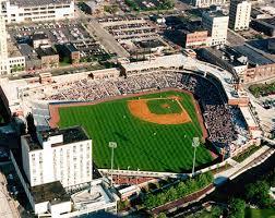Akron Aeros Seating Chart Canal Park Aa Baseball Park Akron Ohio Home Of Akron