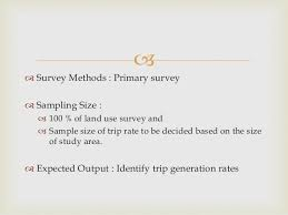 Travel Survey Template Delectable Traffic Transportation Surveys