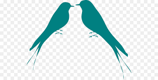 lovebird clipart silhouette.  Lovebird Lovebird Silhouette Clip Art  Bird Cliparts Inside Clipart