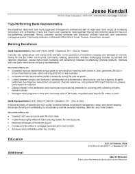 Bank customer service representative resume sample unique good resume  examples ideas 1