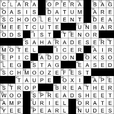 much networking crossword clue