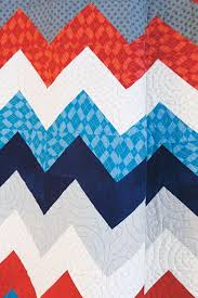Flannel in Chevron Quilt Kit Modern Bold Chevron Stripe Red Blue ... & Flannel in Chevron Quilt Kit Modern Bold Chevron Stripe Red Blue - product  images of Adamdwight.com