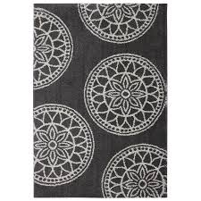mohawk home gray medallions dark taupe indoor inspirational area rug common 8 x 10