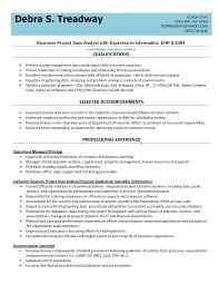 Data Analyst Resume Example