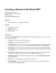 Resume Formatting Workforce Development Specialist Sample Resume