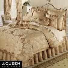 bedroom french golden bedspread sets