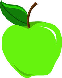 green and red apples clipart. green apple clipart free picture and red apples a