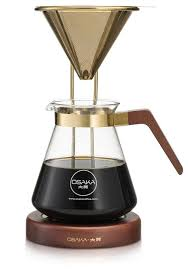 tojinbo large gold pour over brewing stand
