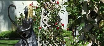 vis alice in wonderland garden stunning garden ornaments