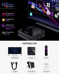 Original H96 Max H616 Smart TV Box Android 10,0 Youtube HD 6K Android TV Box  Google Stimme Assistent PKT95 x96 Max Plus 2020|Digitalempfänger