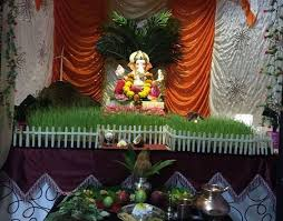 ganpati decoration ideas at home with theme projects to try